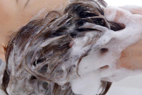 髪質改善 シャンプー 画像