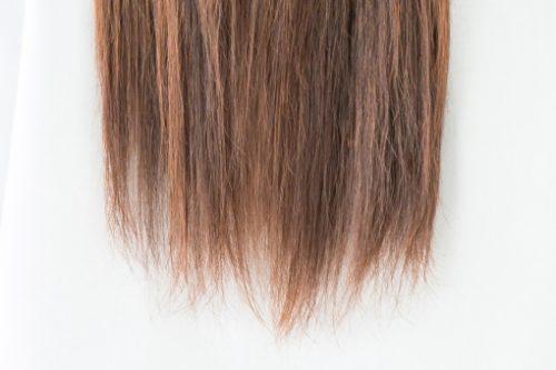髪質改善 枝毛画像