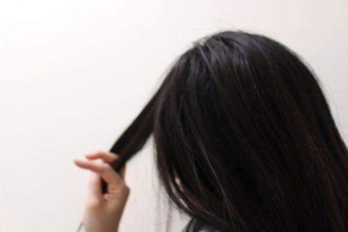 たつの 硬い髪