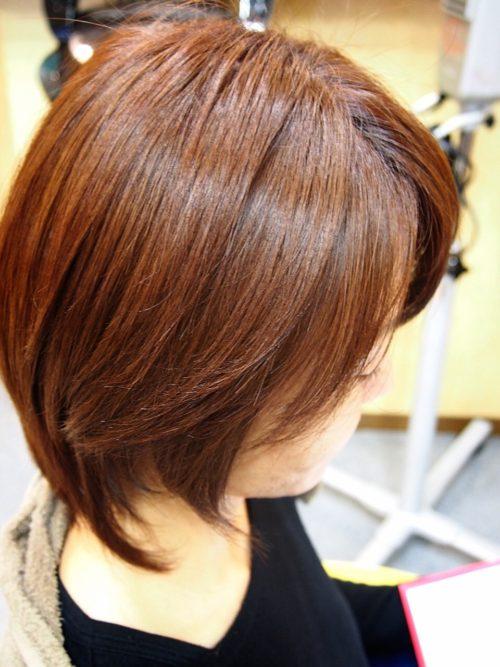髪質改善 皮脂画像