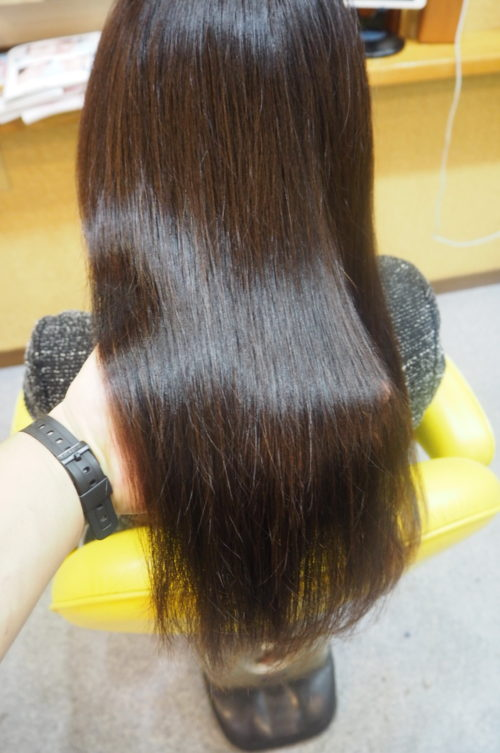 髪質改善 画像