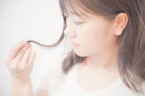 たつの市 髪質改善 枝毛画像